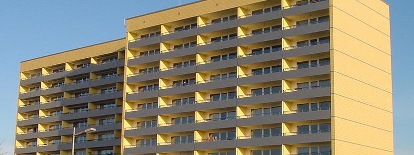 Sanierung Hochhaus Bertold Brecht Straße 17, Schwerin