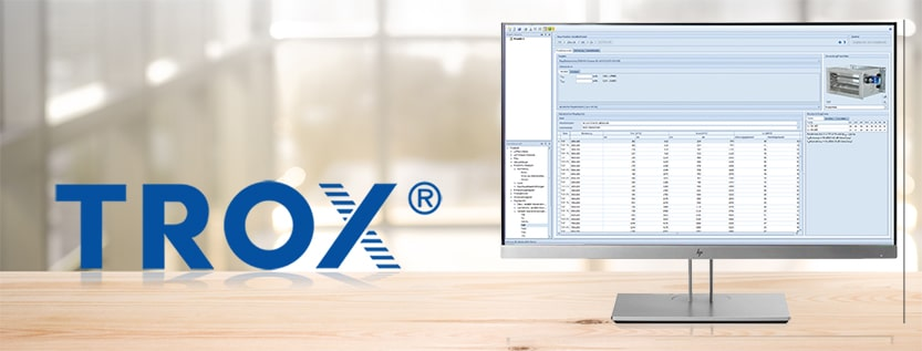 TROX Easy Product Finder
