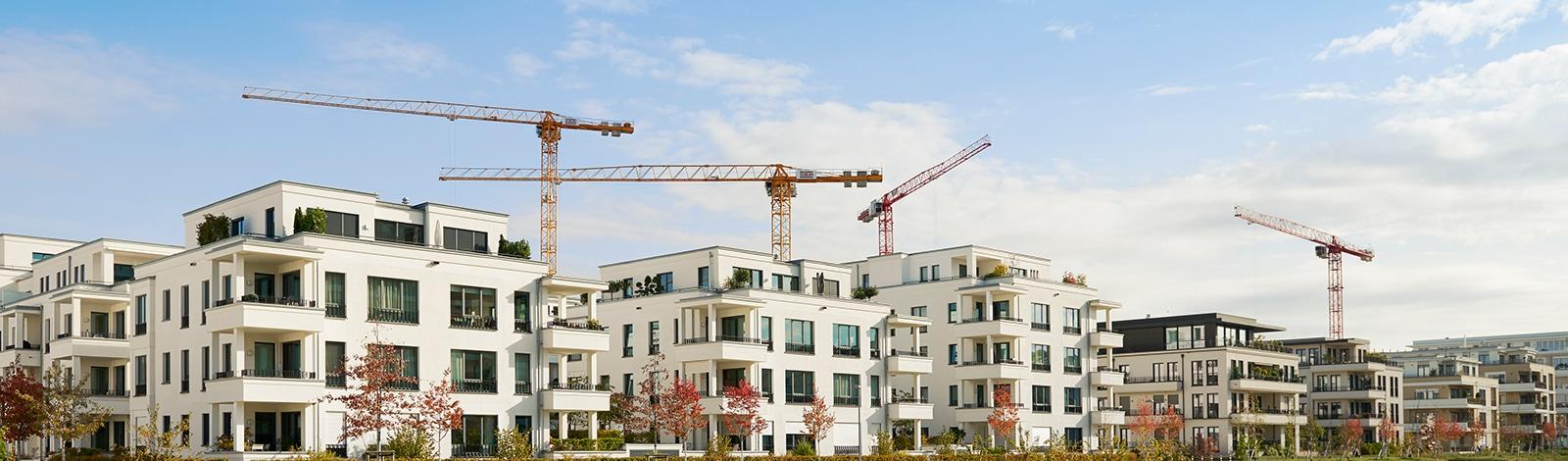 Planung Wohnungsbau