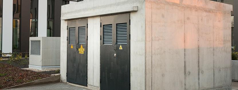 Technische Anlagen in Außenanlagen